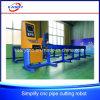 Автомат для резки трубы пламени плазмы CNC для стали и нержавеющей стали углерода