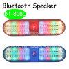 De Spreker van de Vorm van de capsule met Dubbele Stereospeaker met het Licht van de Flits (BT-808L)
