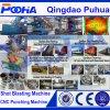 Машина съемки колеса транспортера ролика взрывая (Q69)
