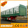 OIN ccc a reconnu la semi-remorque de pieu d'essieux de Chhgc 60t 3