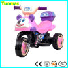 Do presente encantador do brinquedo do bebê motocicleta elétrica para o velomotor das rodas dos miúdos 3