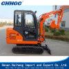 Máquina escavadora Diesel do sistema hidráulico de Yanmar Coreia da alta qualidade mini