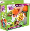 PNF plástico e cozinheiro chefe da fruta e verdura