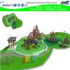Outdoor corrediça grande Playground e Escalada Crianças Park (H15-0397)