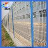 Cerca soldada Curvy revestida certificada do engranzamento de fio do PVC (CT-3)