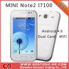 Mini Note2 I7100 Y7100 barato 4.0 '' telefone móvel esperto Sc6820 WiFi Bluetooth do Android 4.0 duplos capacitivos do cartão de SIM