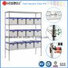 Estante resistente industrial del almacén del acerocromo (carga 800lbs/Shelf)