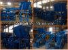 Stadt Argriculture überschüssiges Biogas-elektrische Kolben-Brikett-Maschine