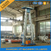 3-6m Vertical Electric Hydraulic Single Person Lift Aerial Mobile Ein Man Lift für Sale