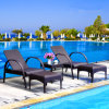 Heißer Verkaufs-preiswerter Preis-Patio-Swimmingpool-Möbelsun-Bett-Strand-Stuhl T501