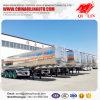 Remorque en aluminium de camion-citerne d'essence du m3 40 lourd