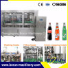 炭酸清涼飲料は (CSD)飲料の充填機の工場をびん詰めにした