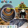 Câmara de ar interna da motocicleta da alta qualidade da fonte da fábrica do certificado do PONTO (110/90-16)