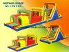 Corsa ad ostacoli gonfiabile classica (BMOT30)