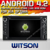 KIA Optima (W2-A7517)를 위한 Witson Android 4.2 System Car DVD