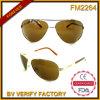 Do metal cheio do frame da moda FM2264 óculos de sol unisex
