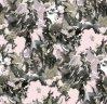 Habotai Styleの絹のPrinted Fabrics