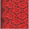 Garment Accessoryのための美しいFlowers Comfortable Lace Fabrics