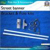 Street di alluminio Banner Bracket e Palo per Street Banner (*NF23M03013)