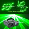 Luz laser de la animación verde, luz del disco