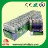 Pesado-deber Carbon Zinc Dry Cell Battery 2PCS de R6p AA 1.5V Extra en Card Pack (magnesio) (R6 AAA UM4)