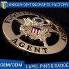 헌병은 기념품 금속 브로치를 위한 Pin의 명찰을 단다