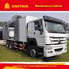 다기능 Sinotruk HOWO 6X4 20 톤 이동할 수 있는 정비 차량