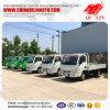 5 contadores de la longitud de la pared lateral de carro del cargo con el neumático 6.00-14