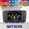 Witson Car DVD voor Mercedes-Benz C Class W203 (2004-2007)/Clc W203 (2008-2010)/g-Class W467 (2005-2007) (W2-C093)
