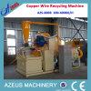 機械銅ケーブルの造粒機を回復Azs-600bワイヤー