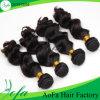 Волосы девственницы сразу оптовых человеческих волос фабрики Unprocessed