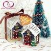 Комплект подарка свечки искусствоа свечки дома снежка свечек рождества