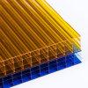 Polycarbonaat Lexan 8mm20mm Blad Vier het Holle Blad van PC van de Muur