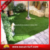 Hierba artificial de la dimensión de una variable de S que ajardina la decoración del jardín
