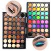 2017 couleurs cosmétiques de l'ombre 40 de renivellement de palette lumineuse mate neuve de fard à paupières/jeu