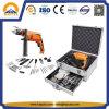 Caixa de armazenamento de caixa de ferramentas de alumínio para conjunto de ferramentas eléctricas (HT-3009)