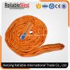 ポリエステル産業索具のための柔らかい起重機のウェビングの吊り鎖