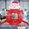 Heißes Verkaufs-Oxford-Tuch-aufblasbarer Weihnachtsmann-Geld-Stand für Verkauf