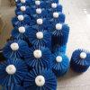 Balai industriel de rouleau d'écaillement de pomme de terre de cylindre d'usine avec le brin en nylon