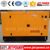 Água trifásica gerador Diesel Soundproof de refrigeração de 250kVA 200kw