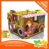 Замок новой дома конструкции цветастой милый крытый капризный для малышей