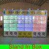 Светлая портативная модульная стойка выставки