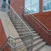 DIY 옥외 단계를 위한 현대 계단 스테인리스 난간 손잡이지주