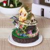 2017 juguete de madera hermoso para el regalo de Navidad