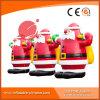 Noël gonflable le père noël 8m H1-006