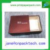 Rectángulo de encargo de Pachaging del regalo del papel de rectángulo de libro del rectángulo de almacenaje