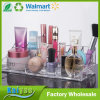 Organizador de acrílico del maquillaje de los cosméticos del claro multi del espacio
