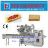 Biscoitos redondos automáticos que envolvem a máquina de empacotamento do fluxo de Horzontal da máquina de embalagem