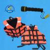 Светящий спасательный жилет Orange Color Foam с 3 Adjustable Belts