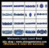 Monili della pietra preziosa dei branelli dei Lazulis di Lapis